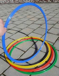 """4-stÜck Kinder Hula Hoop Hup Reifen ø 50cm """"top QualitÄt In 4-farben"""" - Vorschau 4"""