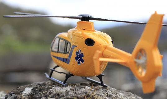 Hubschrauber Eurocopter Notarzt Deko Für Carrera Digital Servo Universal - Vorschau 3