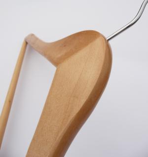 30 st ck kleiderb gel garderobenb gel mit hosenstange aus massiv holz kaufen bei wim shop. Black Bedroom Furniture Sets. Home Design Ideas