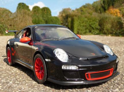 """RC Porsche 911 - 997 GT3 RS mit LICHT 32cm """"Ferngesteuert"""""""