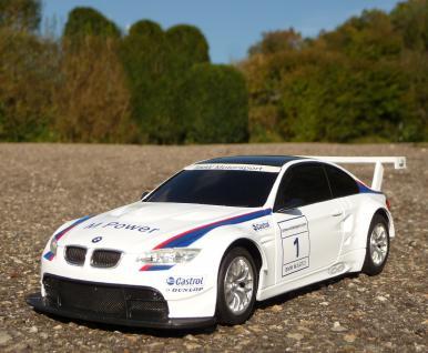 """Rc Bmw E92 M3 Gt2 Sport Coupe Länge 20cm """"ferngesteuert 40mhz"""" - Vorschau 2"""