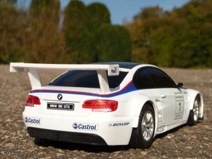 """Rc Bmw E92 M3 Gt2 Sport Coupe Länge 20cm """"ferngesteuert 40mhz"""" - Vorschau 3"""