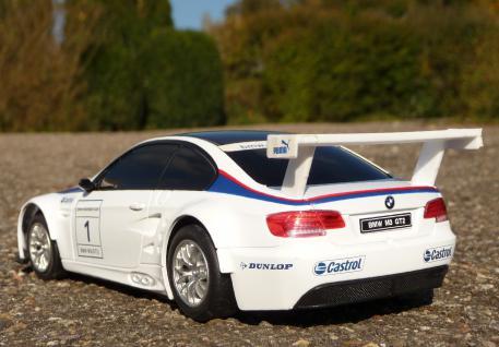 """Rc Bmw E92 M3 Gt2 Sport Coupe Länge 20cm """"ferngesteuert 40mhz"""" - Vorschau 4"""