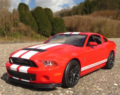 "RC Ford Mustang Shelby GT500 mit LICHT 32cm ""Ferngesteuert 40MHz"""