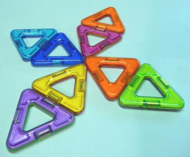 Magformers Quadrate + Dreiecke 14er Set - Vorschau 3