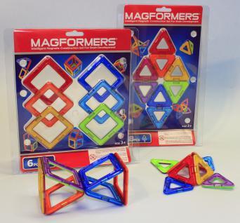 MAGFORMERS Quadrate + Dreiecke 14er SET