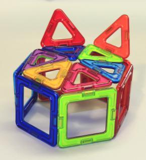 Magformers Quadrate + Dreiecke + Räder 16er Set - Vorschau 5
