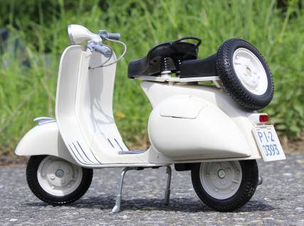 Stand-Modell-Motorrad PIAGGIO VESPA 150 VL1T Baujahr 1955 Länge 30cm - Vorschau 3