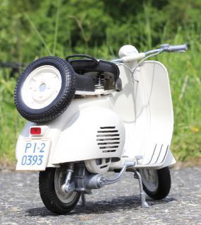 Stand-Modell-Motorrad PIAGGIO VESPA 150 VL1T Baujahr 1955 Länge 30cm - Vorschau 4