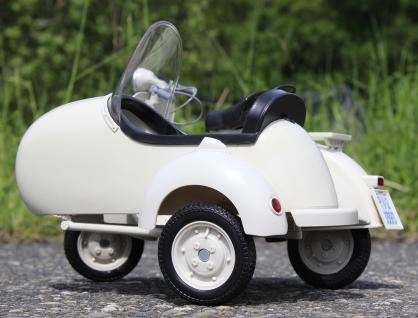 Stand-modell-motorrad Piaggio Vespa 150 Vl1t Mit Beiwagen Länge 30cm - Vorschau 3