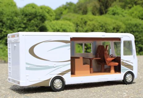 Spielzeug Camping-bus Länge 34cm Mit ZubehÖr 8 Teilig In Top QualitÄt - Vorschau 2