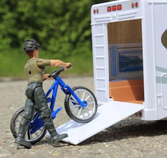 Spielzeug Camping-bus Länge 34cm Mit ZubehÖr 8 Teilig In Top QualitÄt - Vorschau 3