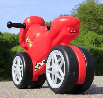 Kinder Laufrad Motorrad 66cm Mit Sound Bis 50kg Belastbar In Top QualitÄt - Vorschau 3