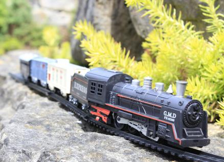 "Kinder MODELLEISENBAHN Express-Lok Spur H0 ""KOMPLETT-SET"""