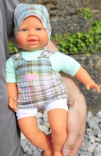 VINYL / STOFF Kinder Babypuppe mit Kleidung 40cm in TOP QUALITÄT