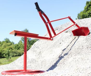 "SITZBAGGER Metall Riesen-Sandbagger bis 50Kg belastbar ""MADE in GERMANY"" - Vorschau 4"