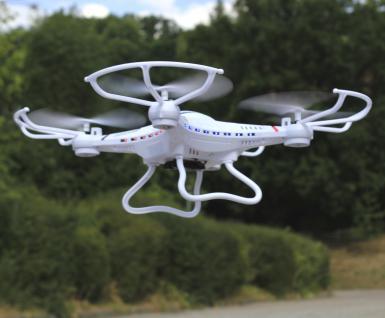 """RC MAXI UFO Quadrocopter Drohne """"300 METER REICHWEITE"""" mit KAMERA 2, 4GHz"""