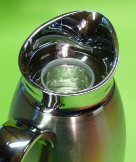 ISOLIERKANNE mit 1-Liter aus EDELSTAHL mit EINHAND-AUTOMATIK - Vorschau 3