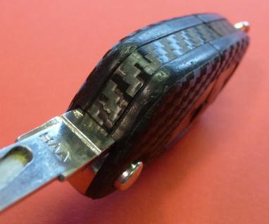 CARBON Schlüssel-Dekor für AUDI mit Klappschlüssel - Vorschau 5
