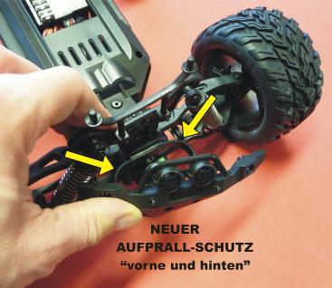 Rc Monster Buggy Truggy 1:10 Der Hammer Ca.50 Km/h Wasserfest In Top QualitÄt - Vorschau 4