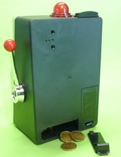 Slotmachine Geld-spielautomat In Mini-größe Mit Realistischer Funktion - Vorschau 4