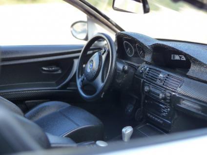 RC BMW e92 M3 Sport Coupe mit LICHT 1:14 Länge 34cm Ferngesteuert 27MHz - Vorschau 4