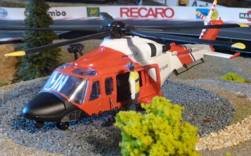 Hubschrauber COAST GUARD Notarzt DEKO für Carrera Digital Servo UNIVERSAL