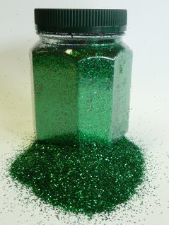 Glitter Glitterstaub Farben Grün von Avantgarde Dose 350g