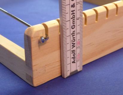 Profi Holz Webrahmen Für Kinder 26, 5 X 17cm Made In Germany Top QualitÄt - Vorschau 3