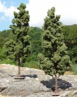 "LAUB Bäume Pappel 2 STÜCK 18cm HÖHE passend zu 1:32 ""MADE in GERMANY"""