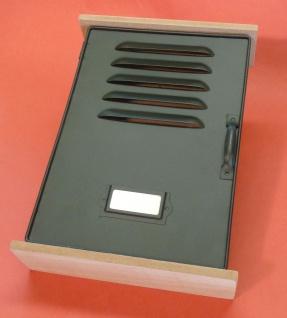 Schlüßelkasten Schlüßelbox Retro Vintage Design Holz/metall Mit Verschluß - Vorschau 2