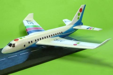 WURFGLEITER XL Flugzeug Boeing mit SUPER FLUGEIGENSCHAFTEN in TOP QUALITÄT