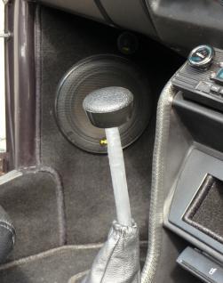 VW Käfer Golf 1 Bus T2 Schaltknauf SERIE schwarz