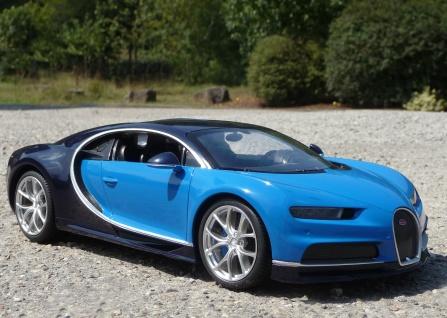 """RC Bugatti CHIRON mit LICHT 31cm """"Ferngesteuert 40MHz"""""""
