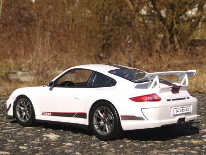 """RC Porsche 911 - 997 GT3 mit AKKU + LICHT Länge 32cm """"Ferngesteuert 2, 4-GHz"""" - Vorschau 4"""