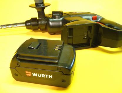 Kinder BOHRMASCHINE WÜRTH Master realistisches Spielzeug mit Sound - Vorschau 2