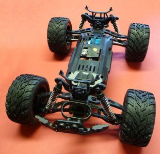 Rc Monster Buggy Truggy 1:10 Der Hammer Ca.50 Km/h Wasserfest In Top QualitÄt - Vorschau 3