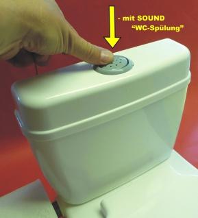 Kinder WC Toilettentrainer mit realistischer SOUND-SPÜLUNG - Vorschau 5