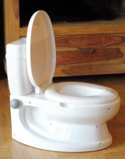 Kinder WC Toilettentrainer mit realistischer SOUND-SPÜLUNG - Vorschau 3