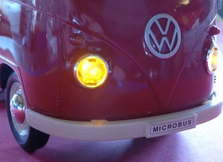 """RC Modell VW BUS T1 Transporter mit LICHT 26cm 27MHz """"Ferngesteuert"""" - Vorschau 5"""