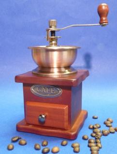 HOLZ Kaffeemühle in wunderschönem NOSTALGIE RETRO-DESIGN mit FUNKTION