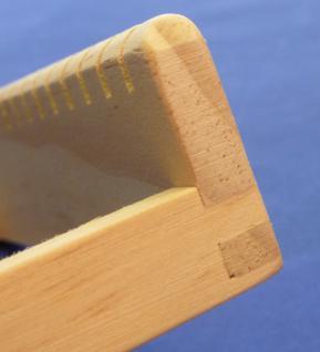 Profi Holz Webrahmen Für Kinder 26, 5 X 17cm Made In Germany Top QualitÄt - Vorschau 4