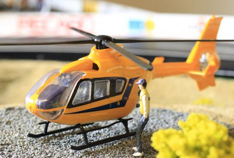 Hubschrauber EUROCOPTER Notarzt DEKO für Carrera Digital Servo UNIVERSAL