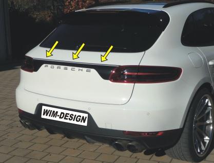 """Heckklappe-design Aufkleber Für Porsche Macan """"made In Germany"""" - Vorschau 4"""