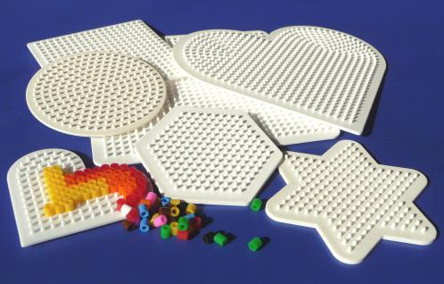 Bügelperlen Eimer mit 20 000 Perlen & 7 Stiftplatten in Top Qualität - Vorschau 3