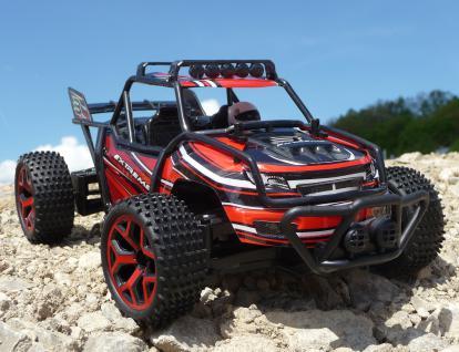 Rc Monster Truggy 30cm Mit 4wd Allrad + Akku Ferngesteuert 2, 4ghz - Vorschau 2