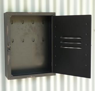 Schlüßelkasten Schlüßelbox RETRO VINTAGE DESIG mit Verschluß - Vorschau 3