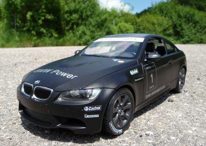 "RC BMW M3 Sport Coupe ""Lizenz Modell"" 34cm 1:14 Schwarz 27MHz"