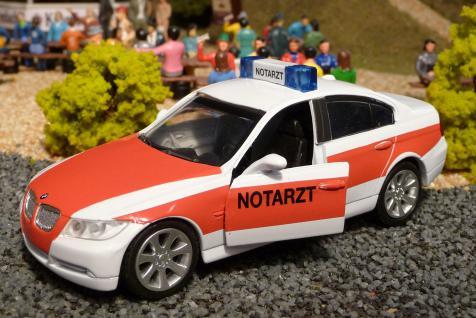 Notarzt Bmw 3er E90 In 1:32 Für Carrera Digital Top Dekoration - Vorschau 2