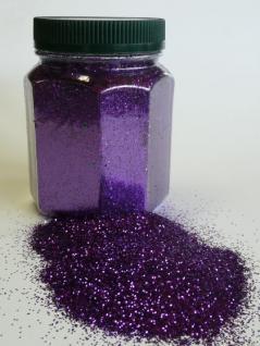 Glitter Glitterstaub Farben Violett von Avantgarde Dose 350g